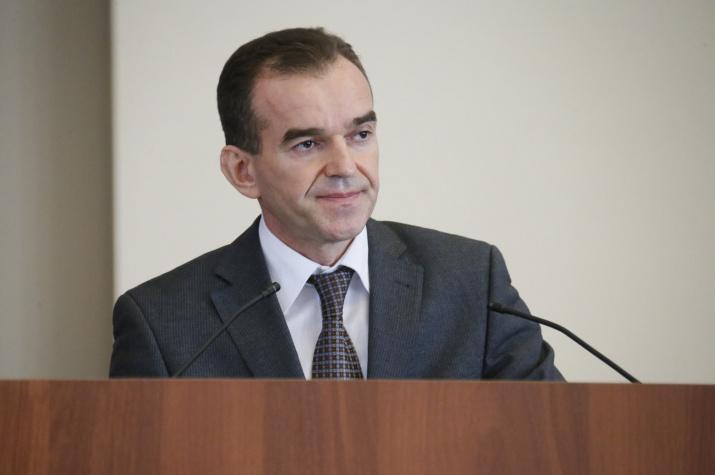 Глава администрации (губернатор) Краснодарского края Вениамин Кондратьев. Фото с сайта admkrai.krasnodar.ru