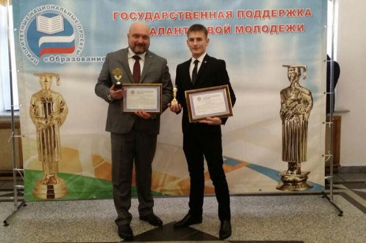 Валера Салеев и Дмитрий Шиллер
