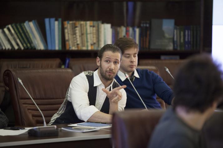 Никита Поповнин и Павел Константинов. Фото: Николай Разуваев