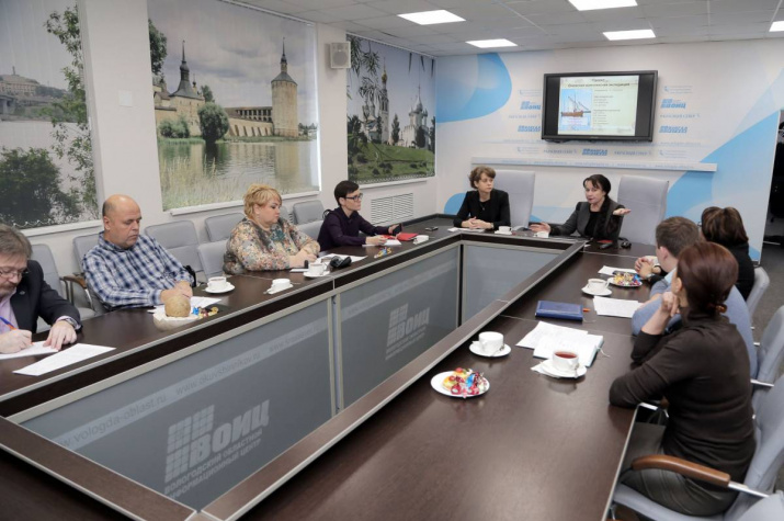 На заседании Медиасовета Вологодского отделения РГО