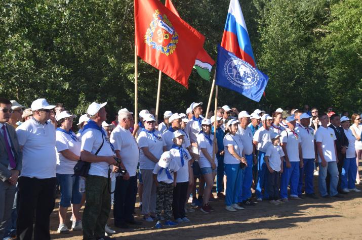 Финиш XXI Российско-Казахстанской экспедиции по р. Урал