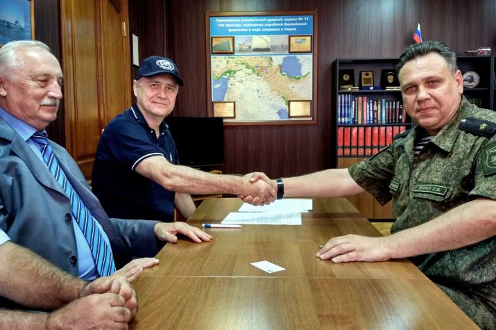 Соглашение скреплено рукопожатием