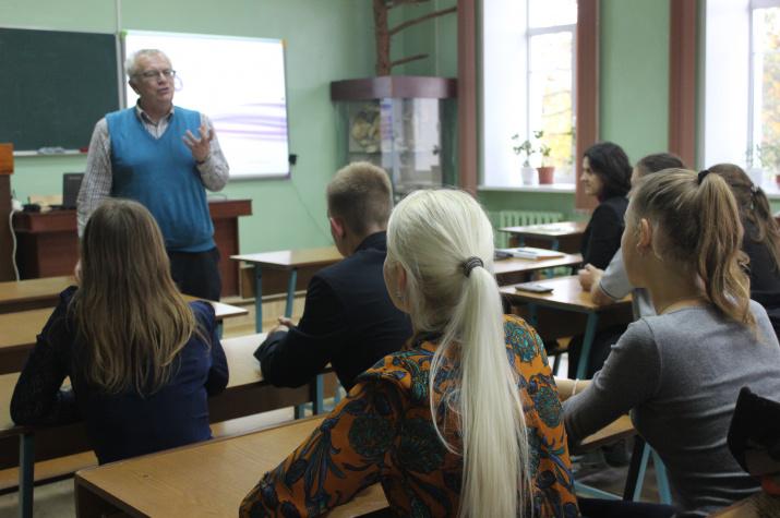 Выступление А.П. Катровского.