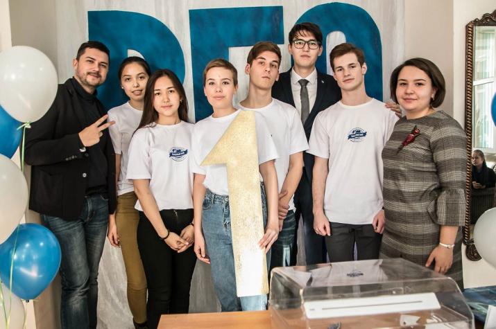 Волонтёры и Руководитель МК ТОО РГО