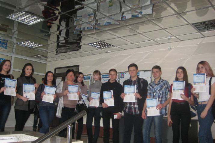 Участники Географического диктанта. Фото предоставлено Курганским отделением РГО.