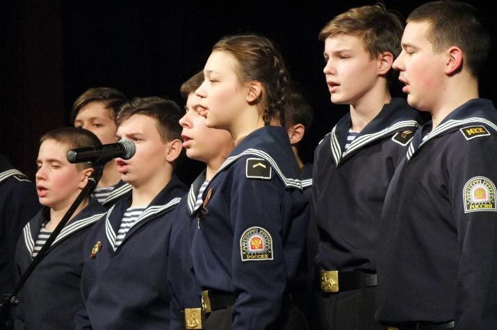 10-летний юбилей Иваново-Вознесенского Морского кадетского корпуса