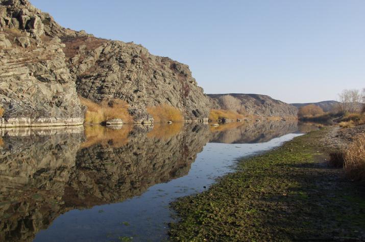 Река Урал в Кизильском районе Челябинской области. Фото: Александр Чибилёв
