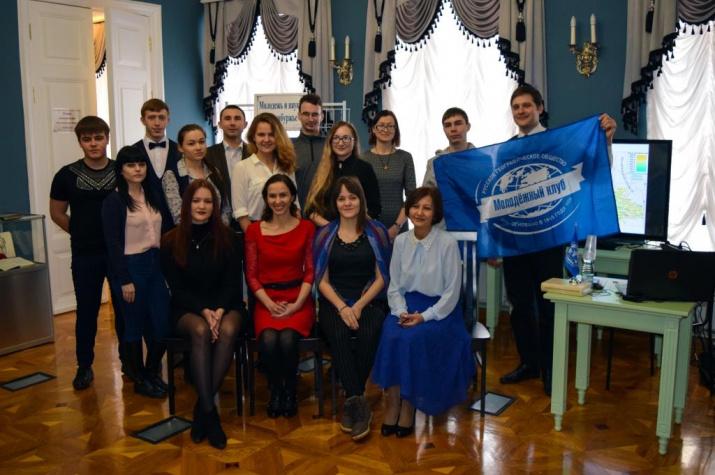 Участники научной конференция молодых учёных «Актуальные направления молодежной науки Оренбуржья: география, экология»