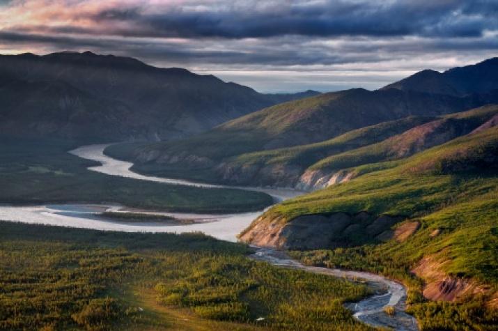 The Indigirka River, Yakutia. Photo by : Sergey Karpukhin