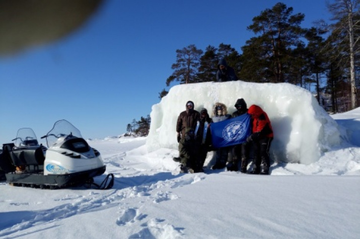 Members in the expedition