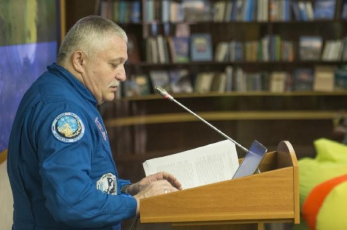 Fyodor Yurchikhin. Photo by the RGS press service