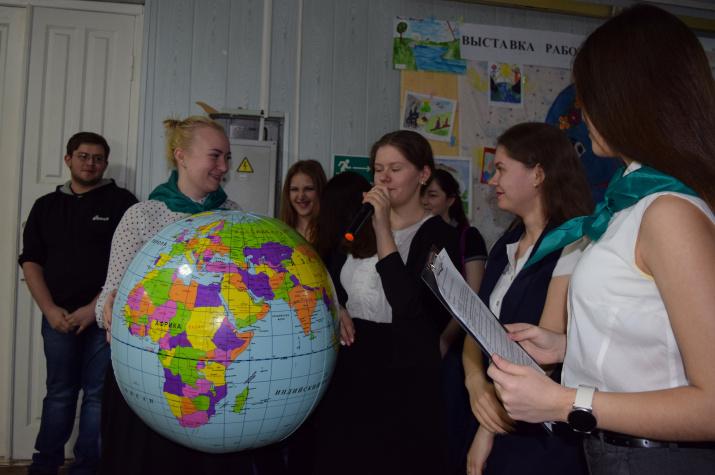 Студенты ОГПУ обещают Земле беречь ее природу