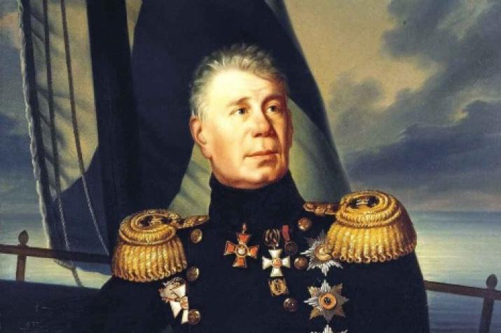 Admiral Ivan Fyodorovich Kruzenshtern