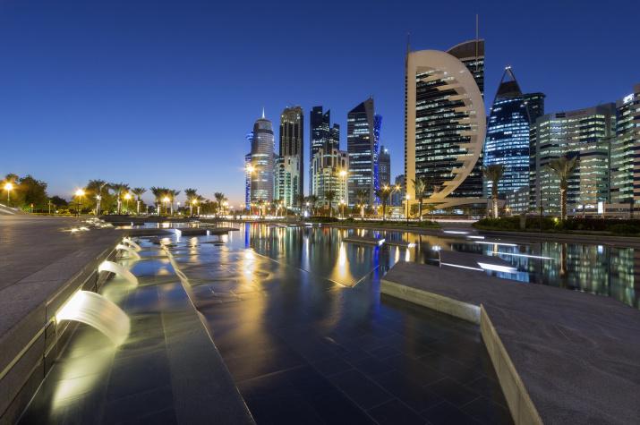 Доха, Катар. Фото с сайта pixabay.com