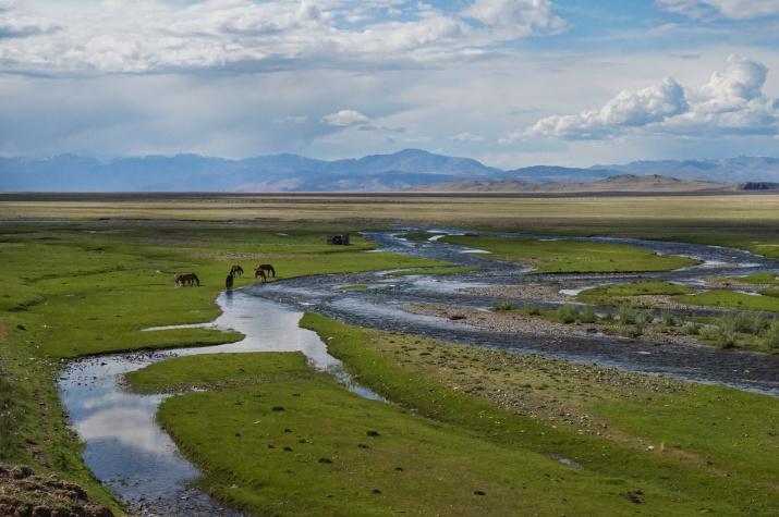 Долина реки Юстыд, Горный Алтай