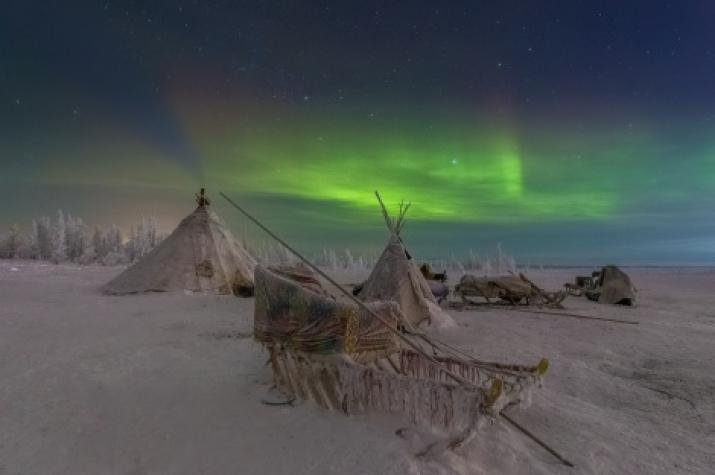 Polar night moments. Kirill Uyutnov