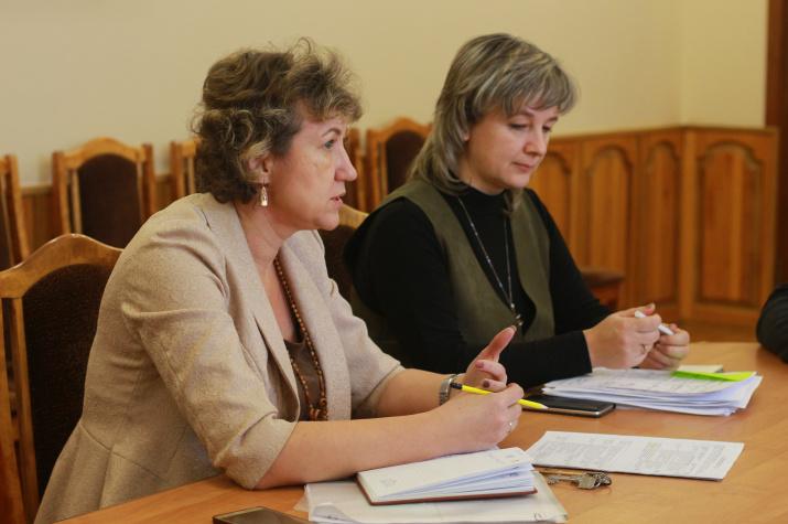Рабочее совещание членов совета регионального отделения. Фото: В. Малова