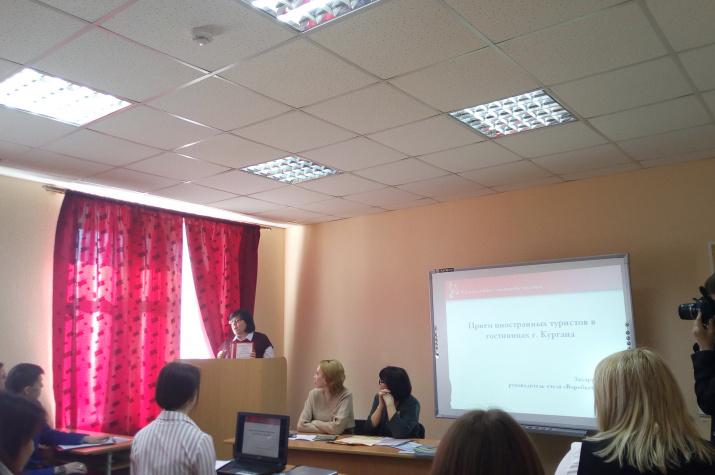 Выступление участников. Фото предоставлено Курганским отделением РГО.