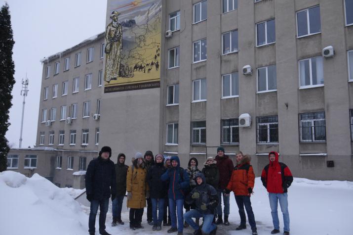 Участники экспедиции (фото А.Карандеев)