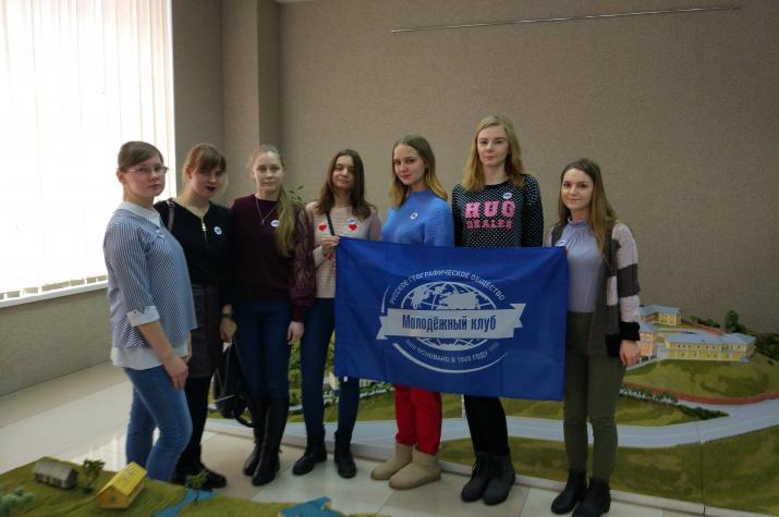 Активисты МК РГО на торжественной церемонии открытия музея. Фото предоставлено Смоленским областным отделением РГО