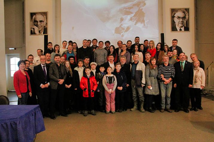 Совместное заседание Омского и Новосибирского отделений РГО