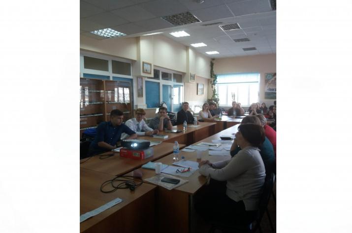 Участники конференции. Фото предоставлено Курганским отделением РГО.