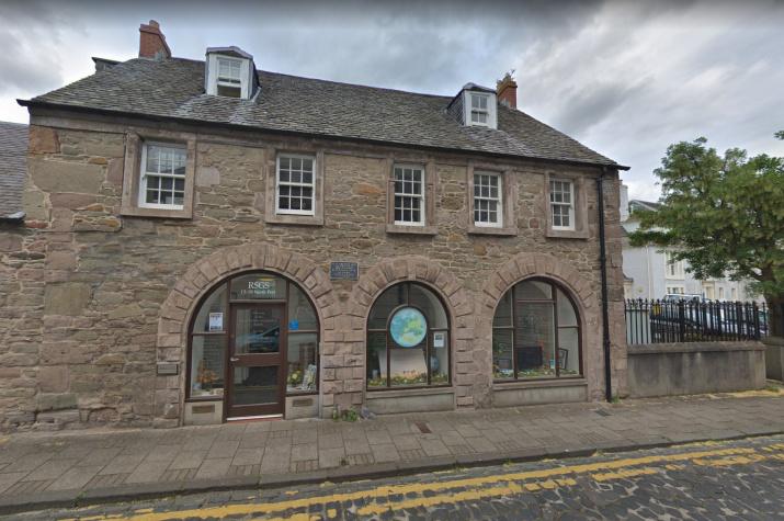 Штаб-квартира Шотландского Королевского географического общества