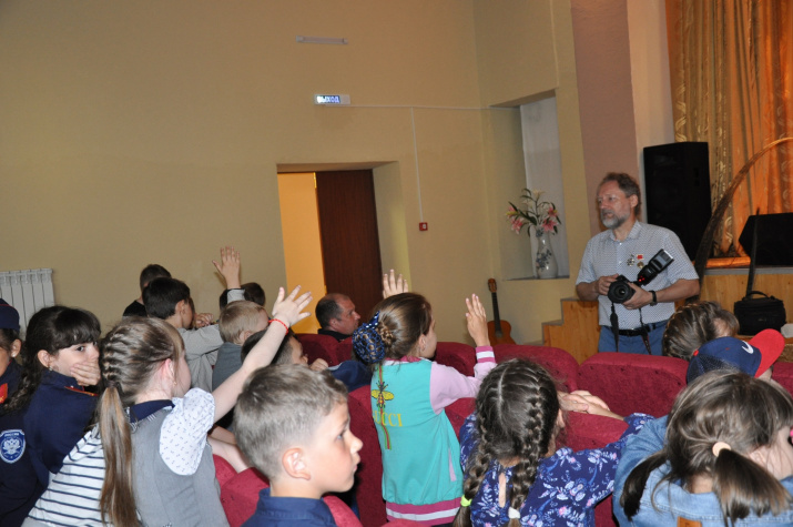 Встреча кадетских классов с заслуженным путешественником России Артуром Чубаркиным