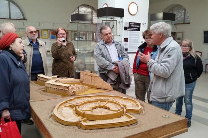 В археологическом музее-заповеднике «Аркаим»