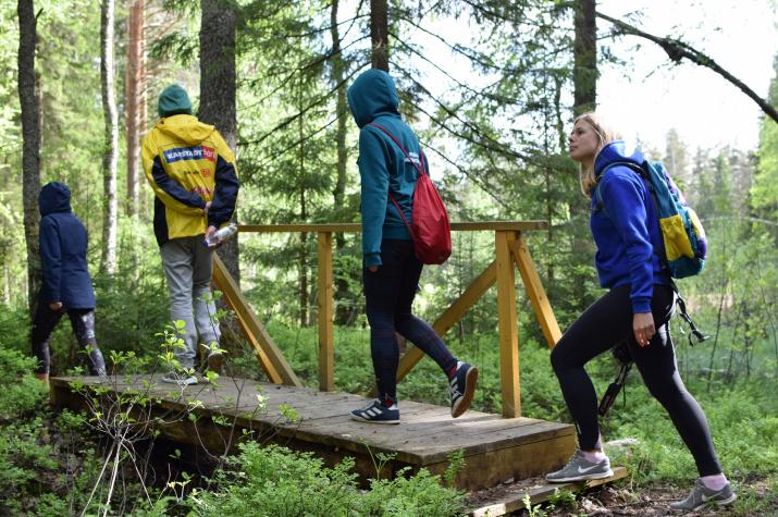 Фото предоставлено участниками эколого-просветительского лагеря РГО