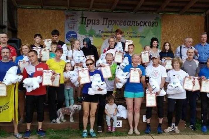 Победители турнира по спортивному ориентированию. Фото предоставлено спортивной школой имени М. Николина