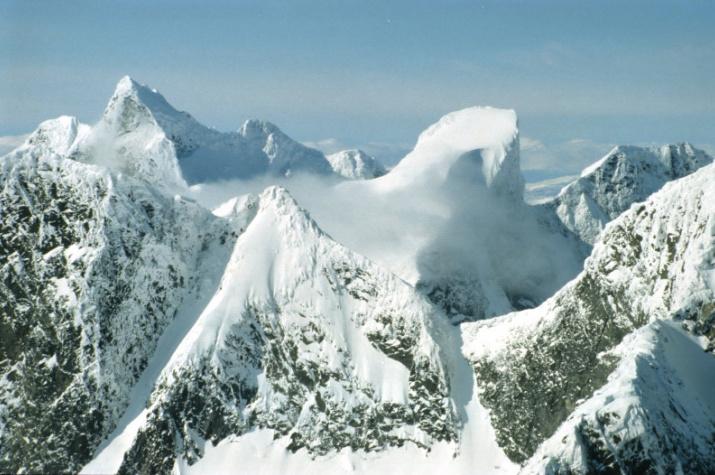Горы Hurrungane. Фото: wikipedia.org