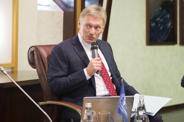 Председатель Медиа-совета РГО Дмитрий Песков. Фото: пресс-служба РГО