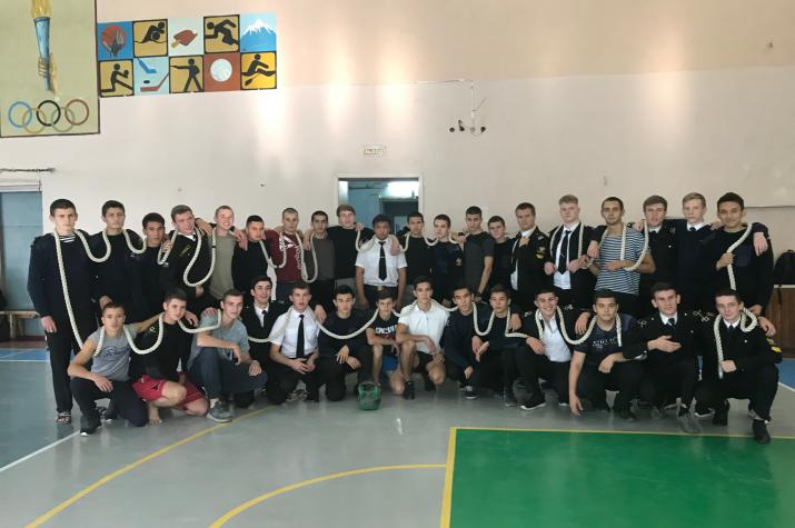 Победила команда группы СВ-32 – куратор Баранкулов А.Г