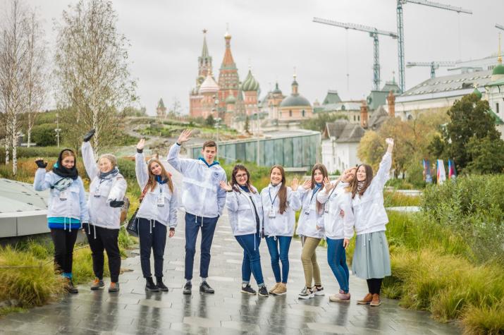 Волонтёры IV Фестиваля РГО. Фото: Ксения Гасица