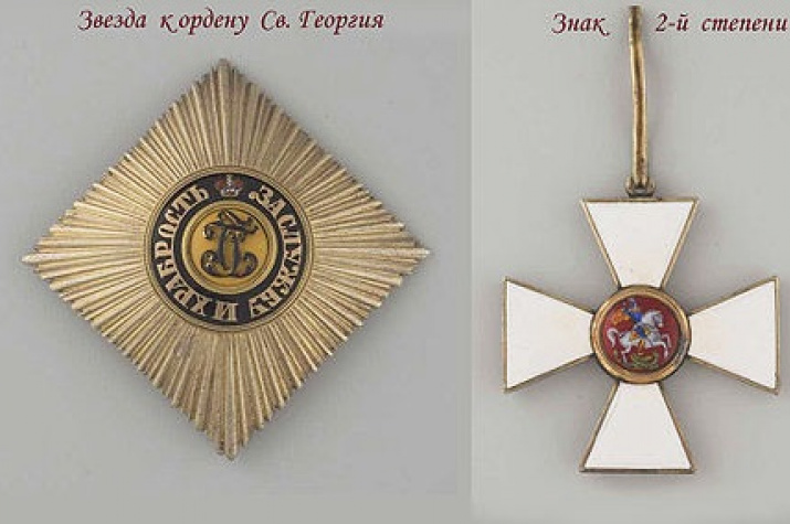 Орден Святого Георгия, wikipedia.org