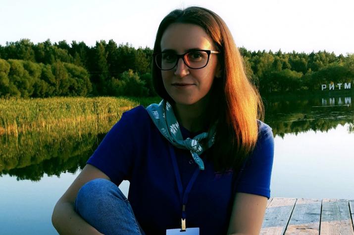 Наталья Кононенко, победитель конкурса Именных стипендий РГО