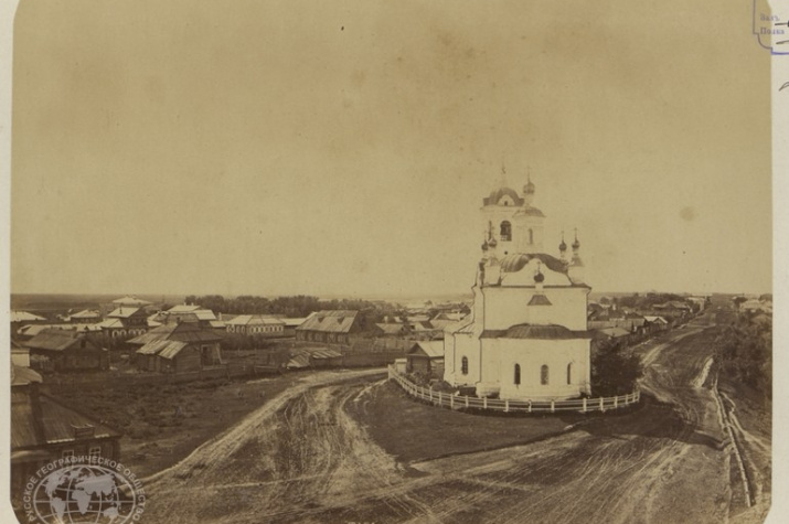 Тара, 1886. Фото: Ф.С. Лахмайер. Из Архива РГО