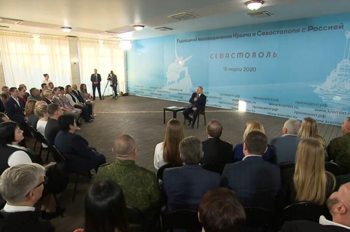 Скриншот из видео с сайта kremlin.ru