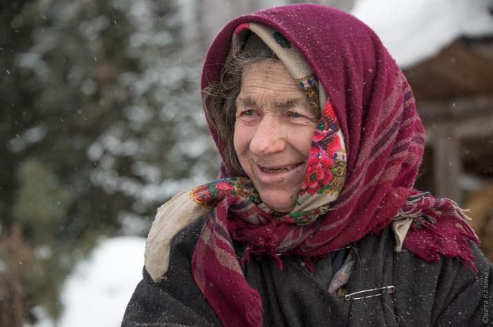 Агафья Лыкова. Фото: Светлана Казина
