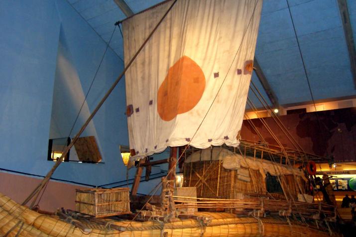 Лодка «Ра-2». Музей Кон-Тики, Осло, Норвегия