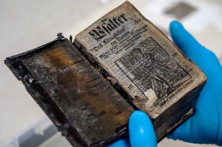 Псалтырь 1692 года издания. Фото: ЦПИ РГО