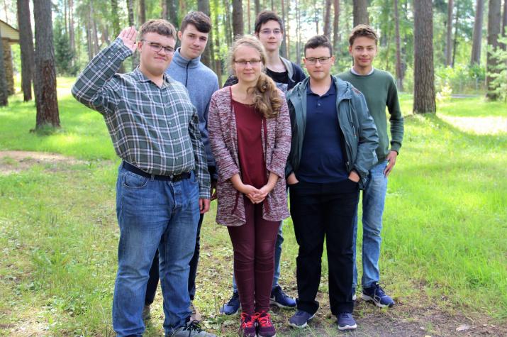 Российские школьники - серебряные призеры EGEO-2020. Фото предоставлено Дмитрием Богачевым
