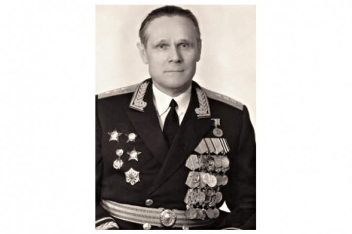 Борис Ефимович Бызов. Фото с сайта polkmoskva.ru