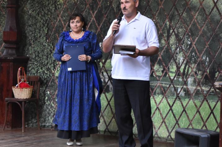 Выступление И.Головачева перед гостями