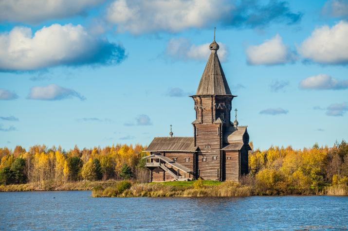Утраченная Успенская церковь в Кондопоге. Фото: Сергей Цепек