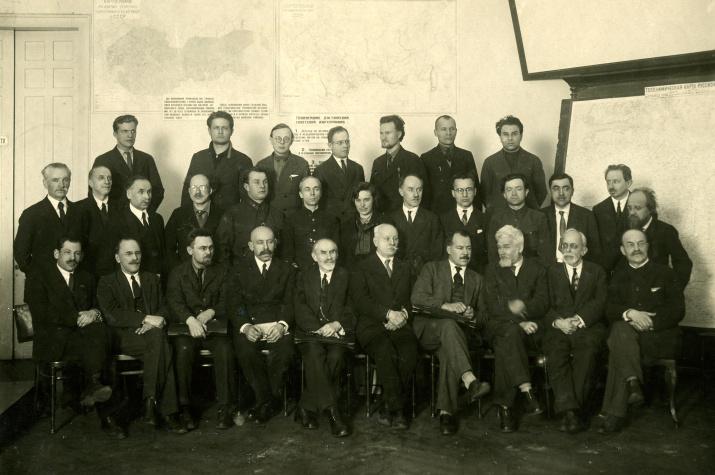 I Всесоюзный съезд РГО, 1933 год. Фото: Научный архив РГО