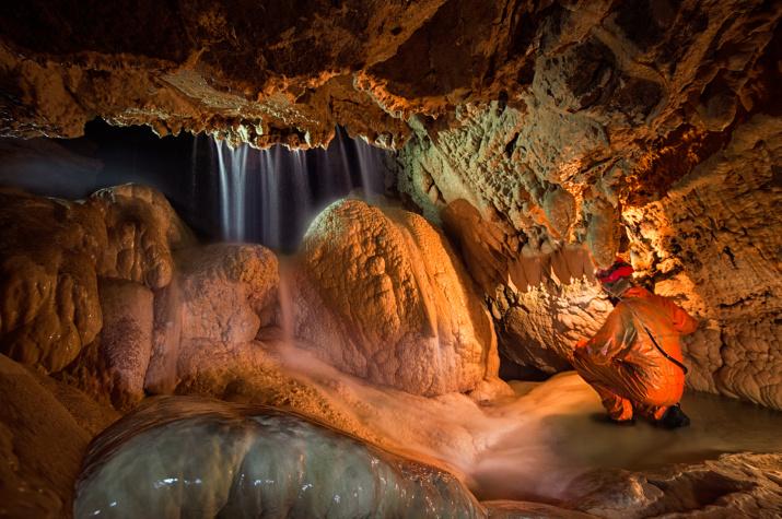 """Пещера Жёлтая. Фото: Елена Пахалюк, участник фотоконкурса РГО """"Самая красивая страна"""""""