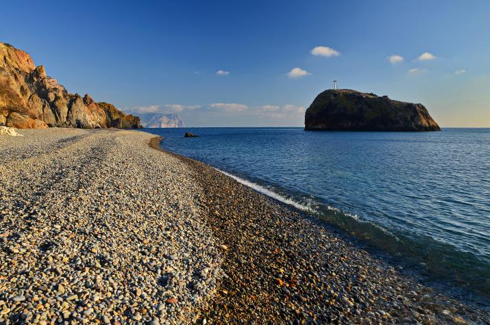 Яшмовый пляж Фиолент. Фото: Юрий Югансон