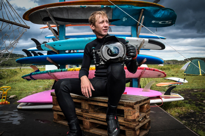 Автопортрет. Фото: Юрий Смитюк